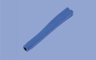 Poignée française Uhlmann bleue