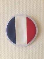 """Coussin Epée cuir """"France"""""""