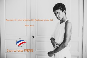 "Cuirasse de protection Homme Defi ""Parade"" 800N FIE"