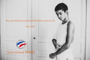 """Cuirasse de protection Enfant Defi """"Parade"""" 800N FIE"""