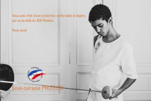"Cuirasse de protection Homme Defi ""Protecto"" 800N FIE"